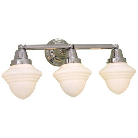 "Bradford Collection 24"" Wide Schoolhouse Bath Light"