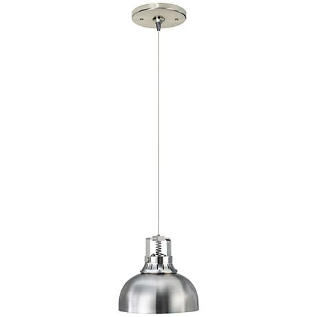 Tech Lighting Freejack Cargo Solid Satin Nickel Pendant