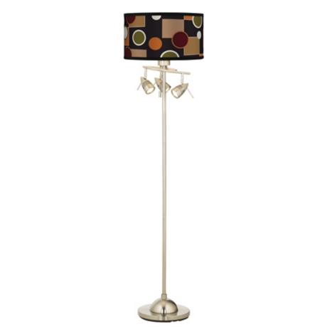 Retro Medley Giclee 4 Light Floor Lamp