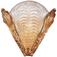 "Metropolitan French Gold 12 3/4"" High Wall Sconce"