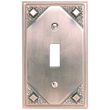 Craftsman Collection Copper Single Toggle Wall Plate