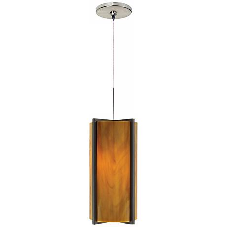 Essex Beach Amber Tech Lighting Mini Pendant Light