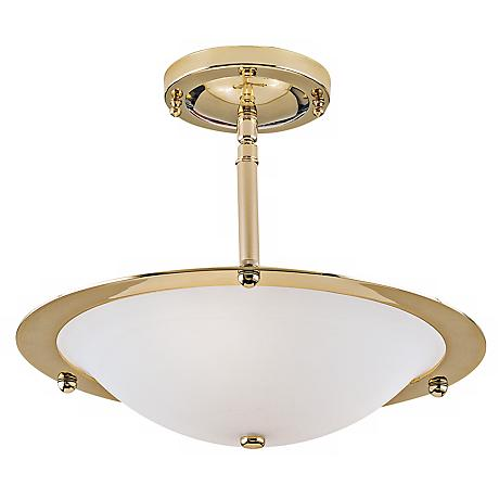 "Diva Contemporary 14 1/2"" Wide Ceiling Light Fixture"