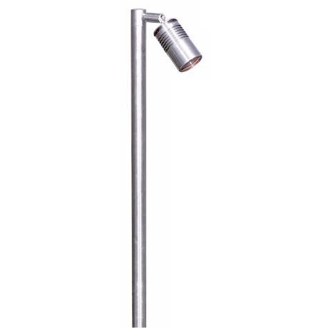 Hunza Euro Collection Single Pole Stainless Steel