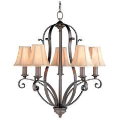 Romana Collection Five Light Chandelier