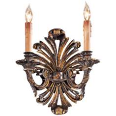 "Metropolitan Collection 12 1/2"" High 2-Light Wall Sconce"