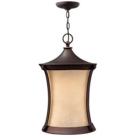 "Thistledown Collection 20 3/4"" High Outdoor Hanging Light"