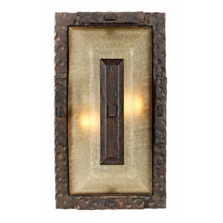 "Rugged Elements Collection 15"" High Outdoor Wall Light"
