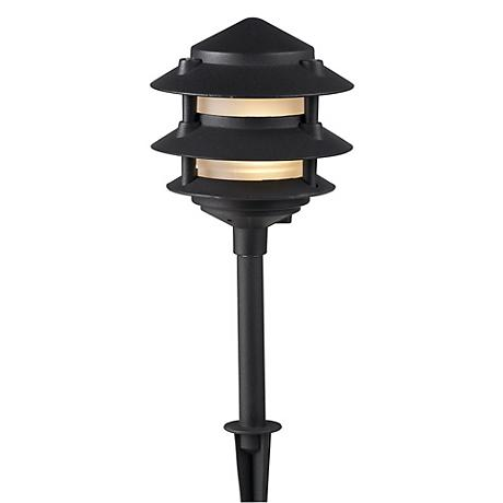 Dabmar Three Tiered Black Landscape Light