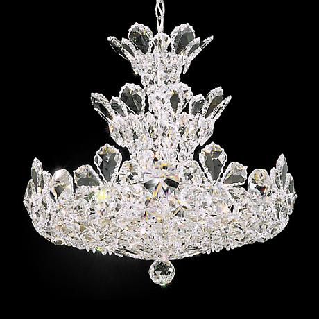 "Schonbek Trilliane Collection 20"" Wide Crystal Chandelier"