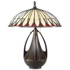 Quoizel Alhambra Tiffany Table Lamp