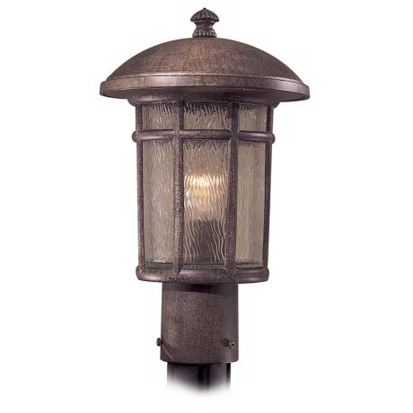 "Cranston Collection 14 3/4"" High Outdoor Post Mount Light"