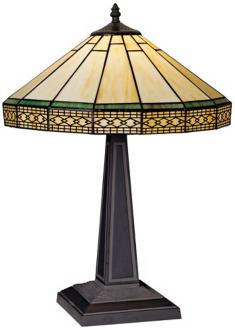 A Mission Style Tiffany Table Lamp