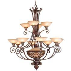 "Stirling Castle Collection 47 1/4"" Wide 13-Light Chandelier"