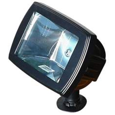 Black Landscape Floodlight