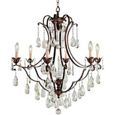 "Maison de Ville Collection 27 3/4"" Wide Crystal Chandelier"