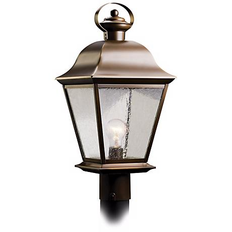 "Kichler Mount Vernon 20 3/4"" High Outdoor Post Light"