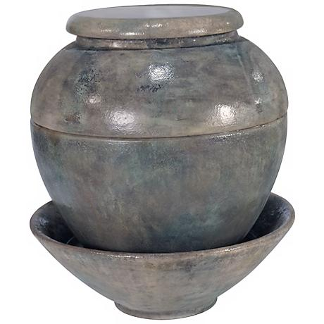 Henri Studio Cielo Cast Stone Europhora Jar Fountain