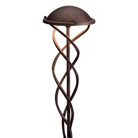 Kichler Tannery Bronze Swirl Landscape Path Light