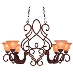 "Belcaro Collection 25 1/2"" Wide Six Light Chandelier"