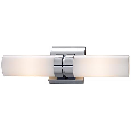 "Wave Cylinder 17 1/2"" Wide ADA Bath Light"