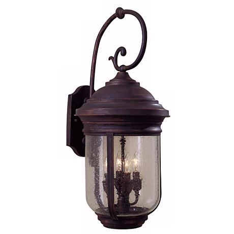 "Amherst Collection Outdoor 28"" High Wall Lantern"