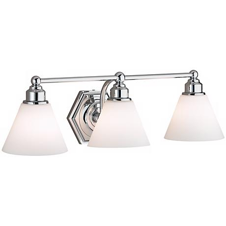 "Jenna Triple Light 25 1/4"" Wide Bath Fixture"