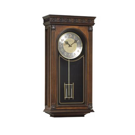 "Bulova Laurien 24"" High Wall Chime Clock"