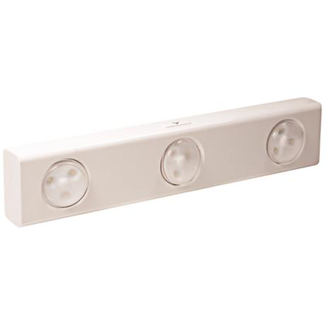 White LED Swiveling Light Heads Under Cabinet Light