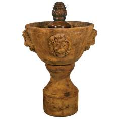 Medium Single-Tier Lenesco Outdoor Fountain
