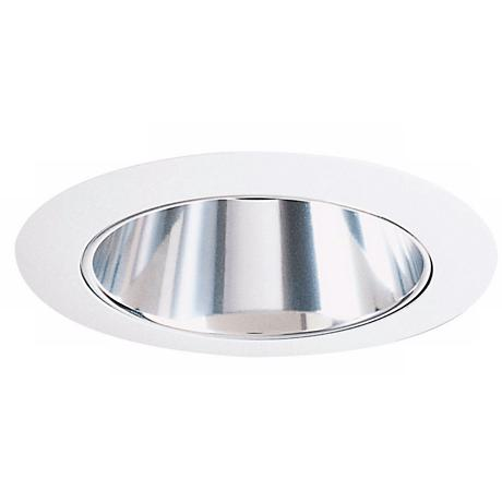 "Juno 4"" Line Voltage Haze Clear Alzak Recessed Trim"