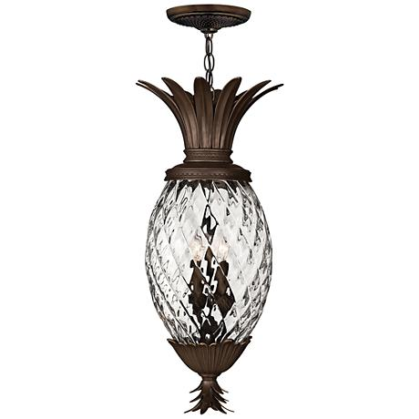 "Hinkley Anana Plantation 28 1/2"" High Outdoor Hanging Light"