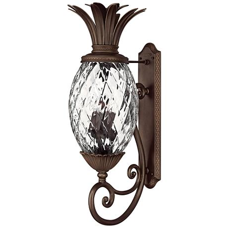 "Anana Plantation Collection 33 1/2"" High Outdoor Wall Light"