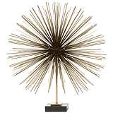"Boom Brass 20 1/4"" High Tabletop Sculpture"