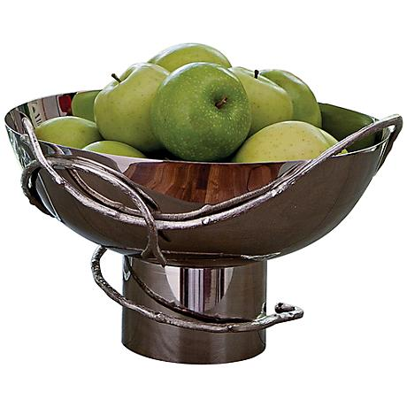 Decorative Nickel Twig Chalice Bowl