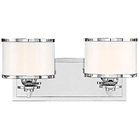 "Hudson Valley Basking Ridge 14 1/4""W Nickel Bath Light"