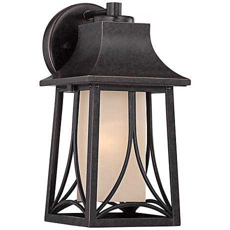 "Quoizel Hunter 11 1/2""H Imperial Bronze Outdoor Wall Light"