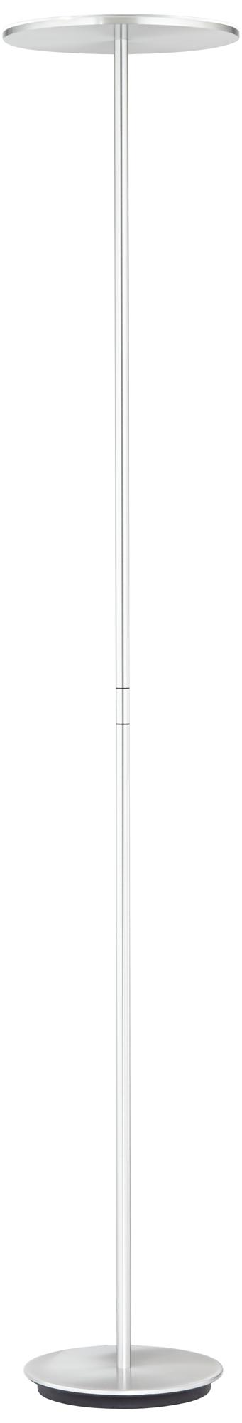 Holtkoetter Plano LED Torchiere Floor Lamp Brushed Aluminum (8D032)