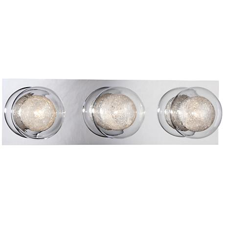 "Eurofase Cambria 16 1/2"" Wide 3-Light Chrome Bath Light"
