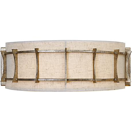 "Varaluz Occasion 17"" Wide 2-Light Zen Gold Bath Light"