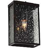 "Varaluz Mission You 10 1/2"" H Bronze Outdoor Wall Light"