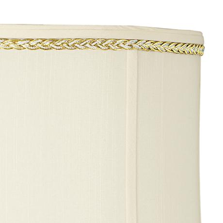 Metallic Gold and Gray Twist Lamp Shade Trim - 3 Yards