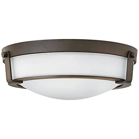 "Hinkley Hathaway 16""W Olde Bronze Ceiling Light"
