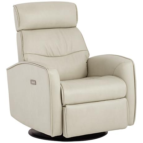 Chase Jamestown Ash Swivel Power Glider Recliner