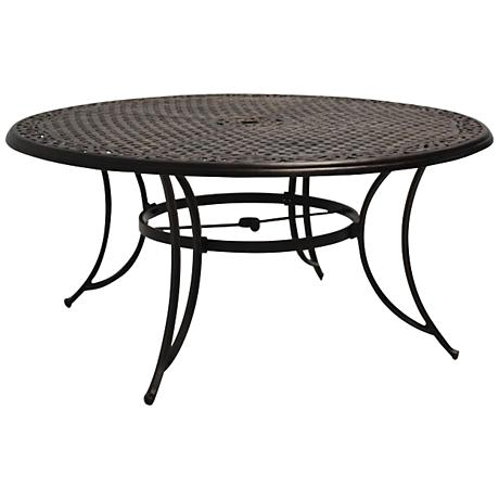 Monarch Pointe 60 Round Outdoor Dining Table 8G842