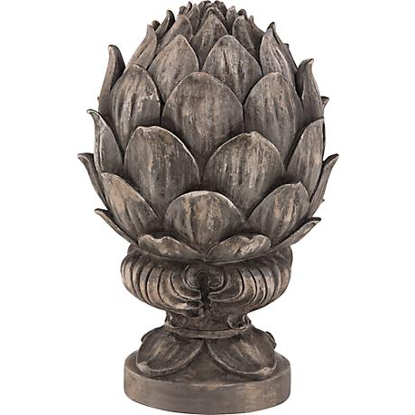 Bronze Artichoke Decorative Accent