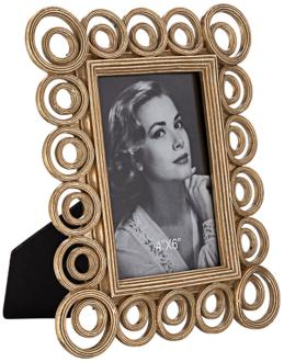Double Circle 4x6 Photo Frame (8J244)