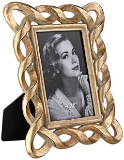 Golden Swirl 4x6 Photo Frame (8J248)