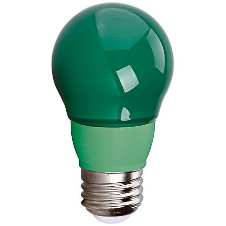 Cyber Tech Green 5 Watt A15 LED Party Light Bulb