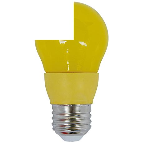 Cyber Tech Yellow 5 Watt A15 LED Party Light Bulb